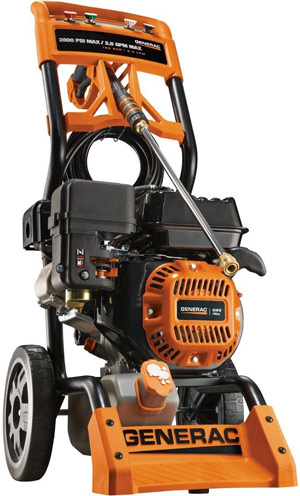 Generac 6596 gas power washer